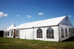 Hochzeitslocation-Zelt